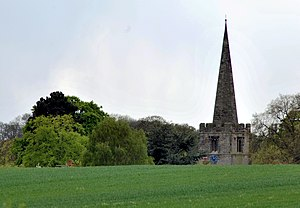 Cotgrave - All Saints' from the east