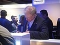 CES 2012 - Panasonic - Ed Begley Jr signs for fans (6764016343).jpg