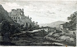 The château in 1789