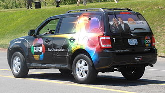 CHCH-DT - One of CHCH's current news vehicles.