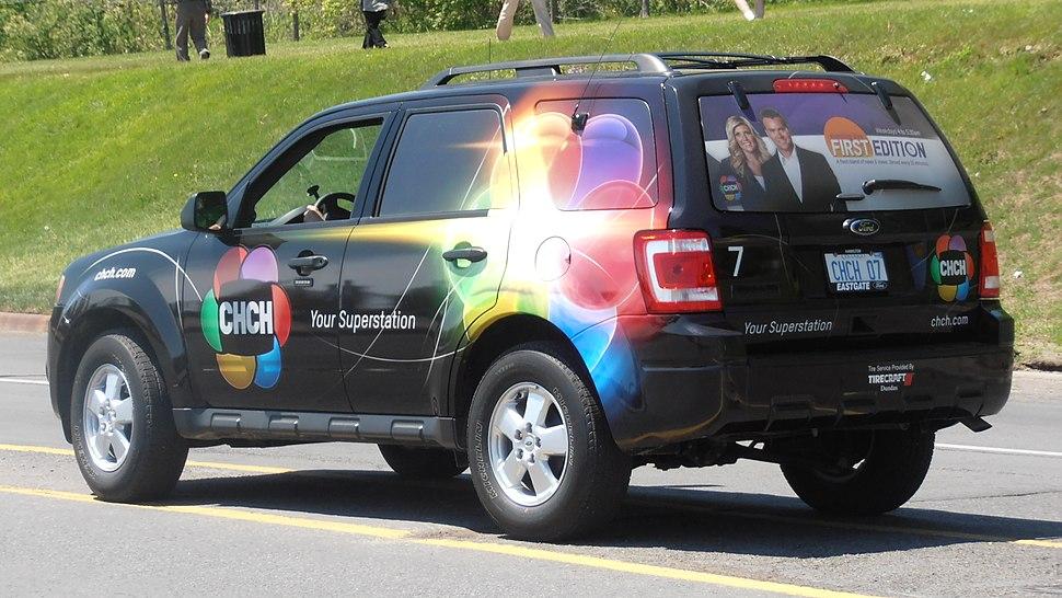 CHCH Television truck, Summer 2012