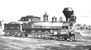 "Mastodon (steam locomotive) American 4-8-0 locomotive (1882–1935) nicknamed ""Mastadon"""