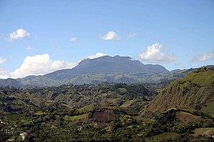 Panorámica del Volcán Doña Juana