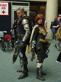 Cosplays de Cable et Hope
