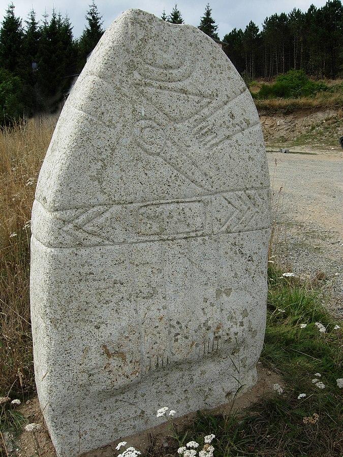 Statue menhir of Salverguettes