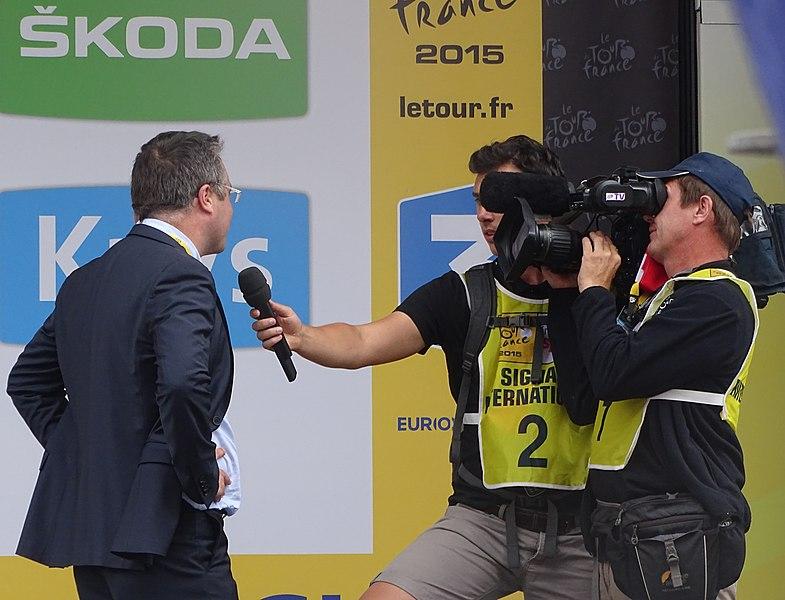Reportage réalisé le mardi 7 juillet à l'occasion de l'arrivée de la quatrième étape du Tour de France 2015 à Cambrai, Nord-Pas-de-Calais, France.