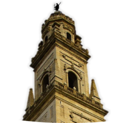 The bell tower of the Cathedral in Lecce
