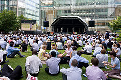 Canada Square, London - July 2009.jpg