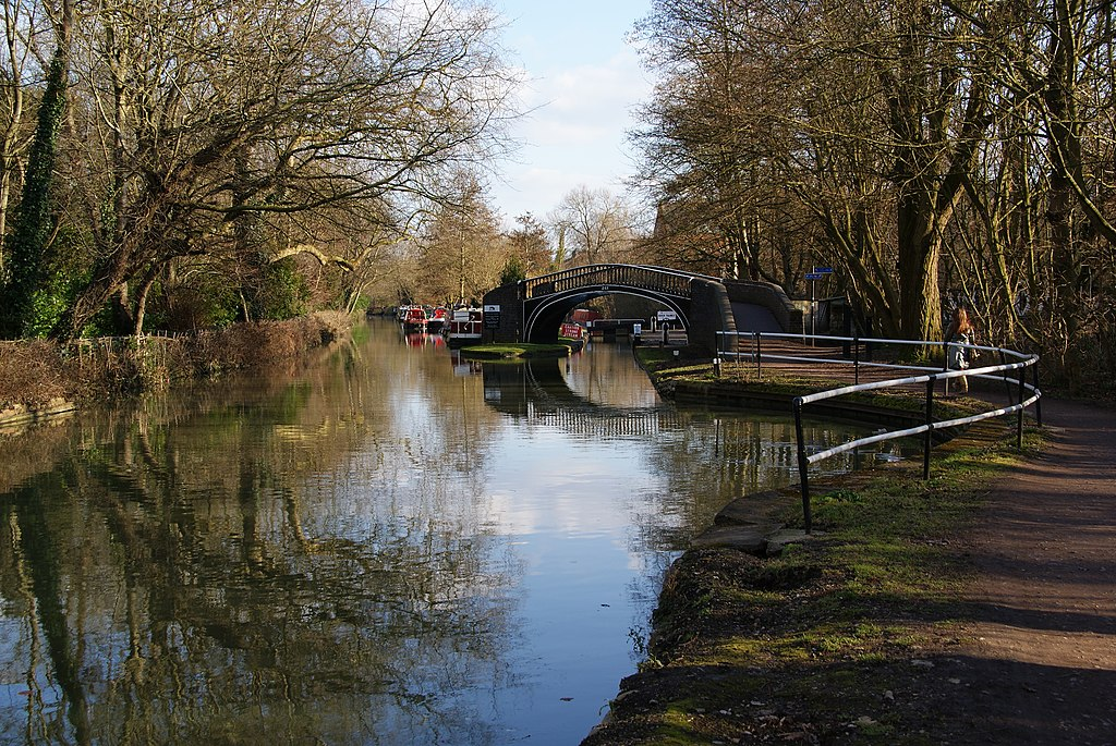 Canal d'Oxford - Photo de Bill Boaden