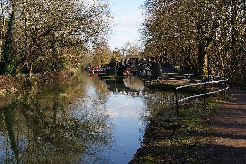 Canal d'Oxford - Photo de Bill Boaden