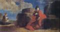 Candida e Gelasia (1731) - Francisco Vieira Lusitano (série Santos e Anacoretas, transepto da Igreja de Santa Catarina, Lisboa).png