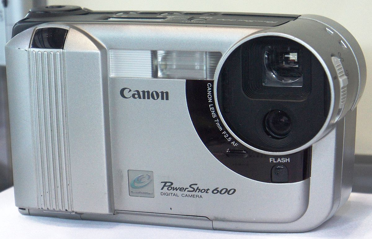 Canon powershot wikipedia for Camera camera