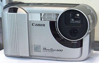 Canon PowerShot - Image: Canon Power Shot 600 CP+ 2011