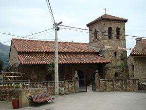 Garabandal apparitions - Parochial church of San Sebastián de Garabandal (situated in Cantabria, Northern Spain).