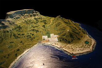 Cape Town - A model of Cape Town as it would have appeared in 1800.