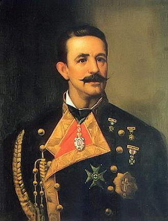 Cesáreo Fernández Duro - Captain Cesáreo Fernández Duro. (Naval Museum of Madrid).