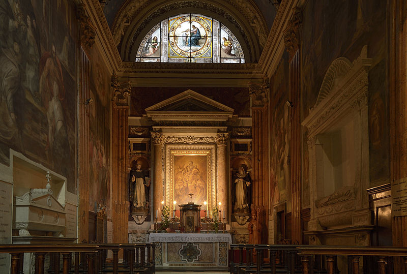 Cappella della Madonna Del Rosario i St Mary Ovan Minerva.jpg