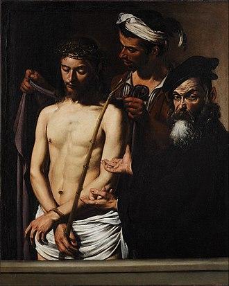 Ecce Homo (Caravaggio) - Image: Caravaggio (Michelangelo Merisi) Ecce Homo Google Art Project