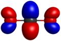 Carbon dioxide antibonding orbital.png
