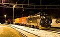 CargoNet El 16 at Dombås at night.jpg