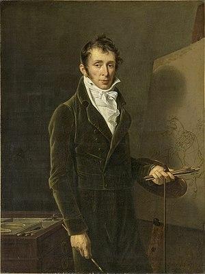 Carle Vernet - Carle Vernet; portrait by  Robert Lefevre