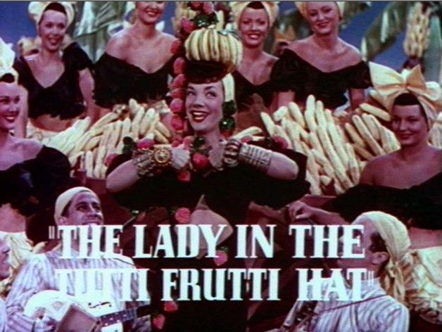 Carmen Miranda in The Gang's All Here trailer