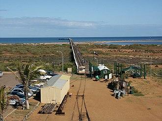 Carnarvon, Western Australia - Carnarvon jetty