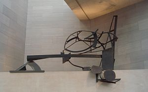 Anthony Caro - National Gallery Ledge Piece, 1978, welded steel, by Anthony Caro