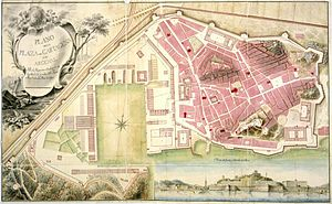 Cartagena Naval Base - The Naval Base of Cartagena in 1799