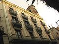 Casa Jeroni Juncadella i campanar de Sant Jaume.jpg