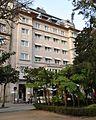 Casa de Domingo Davila, arquitecto Manuel Gómez Román, 1942, hoxe Hotel Nagari, Vigo.JPG