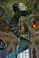 Castello ducale di Corigliano C. scala a chiocciola torre.JPG