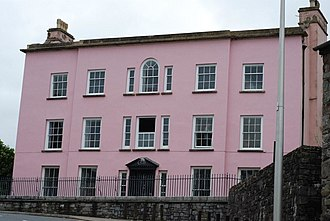 Laugharne - Castle House, Laugharne