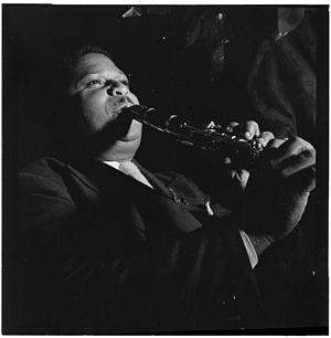 Cecil Scott - Cecil Scott, Ole South, New York, c. Oct. 1946.  Photograph by William P. Gottlieb.