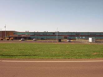 Central Columbia High School - Part of the Central Columbia High School building