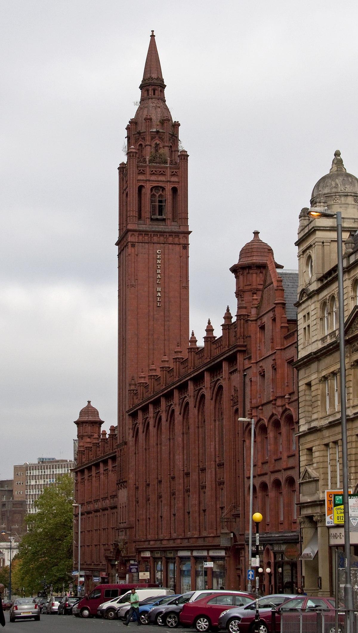 Methodist Central Hall Birmingham