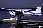 Cessna at Nimpo Lake, 1981 06.jpg