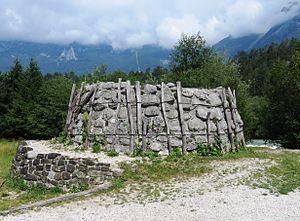 Čezsoča - Image: Cezsoca Slovenia lime kiln