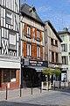 Châlons-en-Champagne, timber framed houses on the Rue de la Marne.JPG