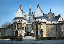 Photo of the castle gate