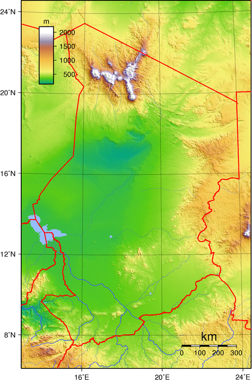 Geography of Chad - Wikiwand