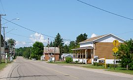 Main Street in Chalk River