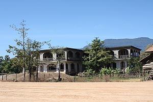 Champasak (town) - Image: Champasak Palace