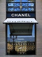 Boutique Chanel a Parigi.