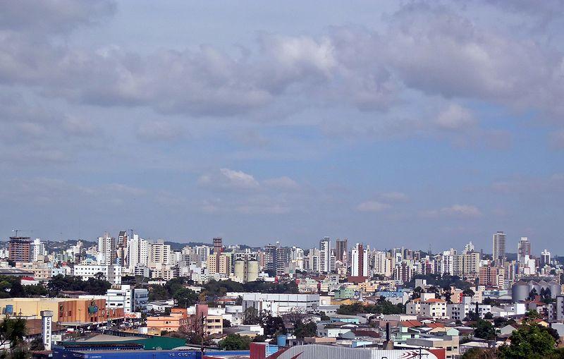 Vista parcial da cidade, Setembro de 2016