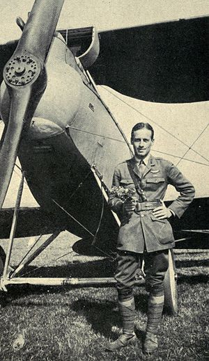 Charles J. Biddle (aviator) - Charles J. Biddle, 1918