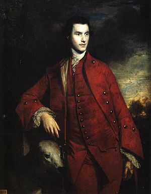 1758 in art - Image: Charles Lennox, 3rd Duke of Richmond