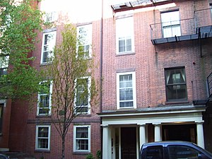 Charles Sumner House - Image: Charles Sumner House Boston