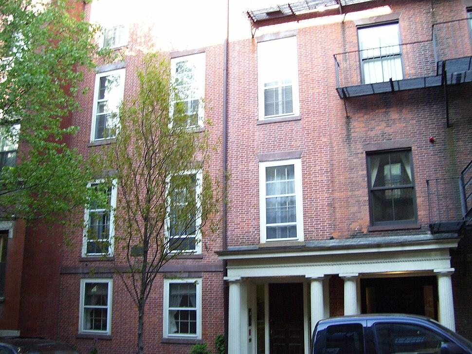 Charles Sumner House Boston