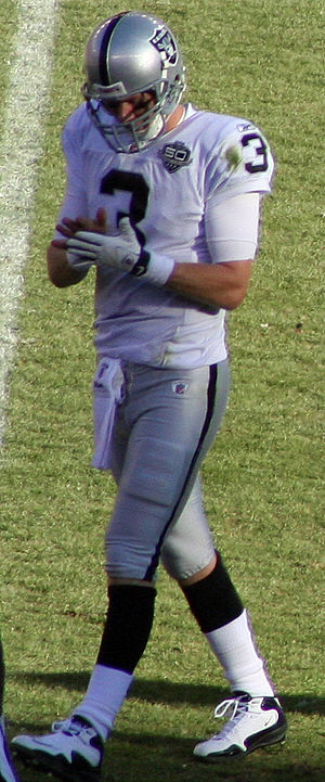 Charlie Frye - Frye with the Raiders in December 2009